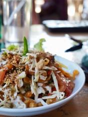 Bagan, tea leaves salad