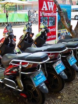 Bagan, e-bikes for rental